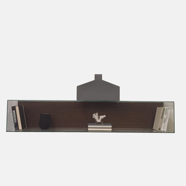 Origamibook Glass Wall Shelf (2 in stock)