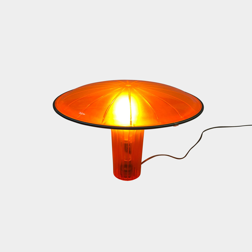 Luceplan D36 Agaricon Table Lamp Orange by Ross Lovegrove
