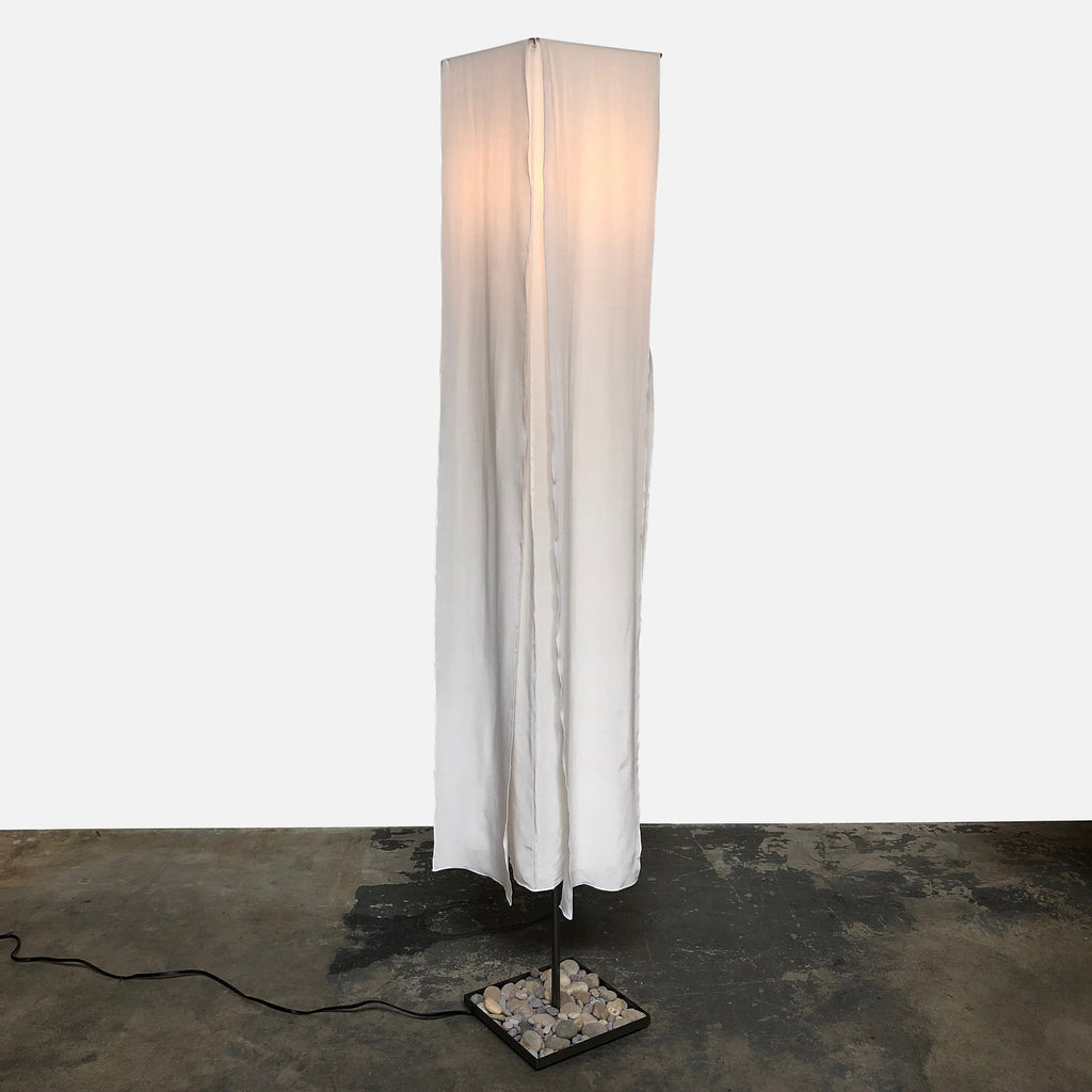 Fire Farm Lighting Heaven & Earth Floor Lamp with Silk Panels