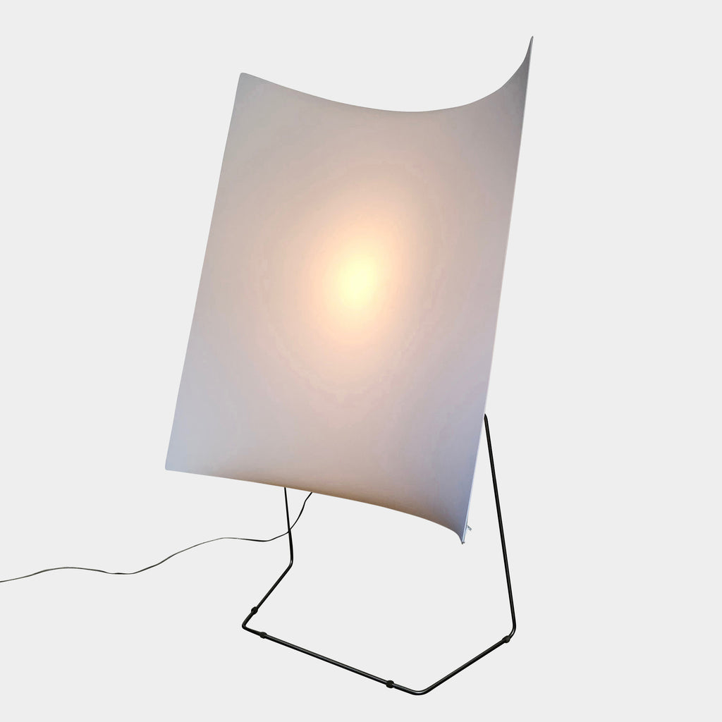 Prandina White Fabric 33F Floor Lamp