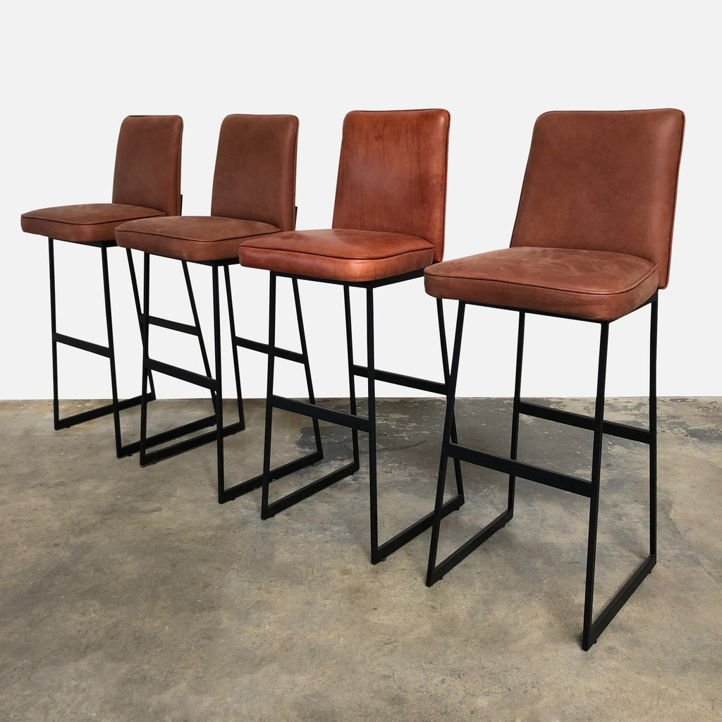 Elysian Bar Stools (Set of 4), Bar Stool - Modern Resale