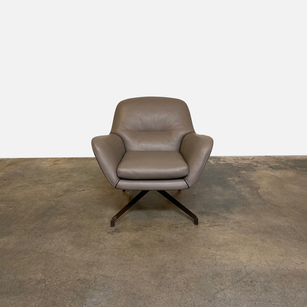 Jensen Swivel Armchair, Lounge Chair - Modern Resale
