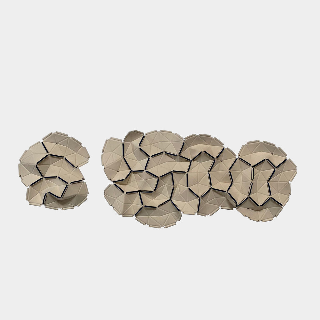 Clouds Fabric Tiles / Wall Sculpture, Accessories - Modern Resale