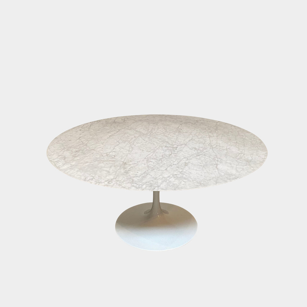 Knoll Round Calacatta Saarinen Dining Table Eero Saarinen
