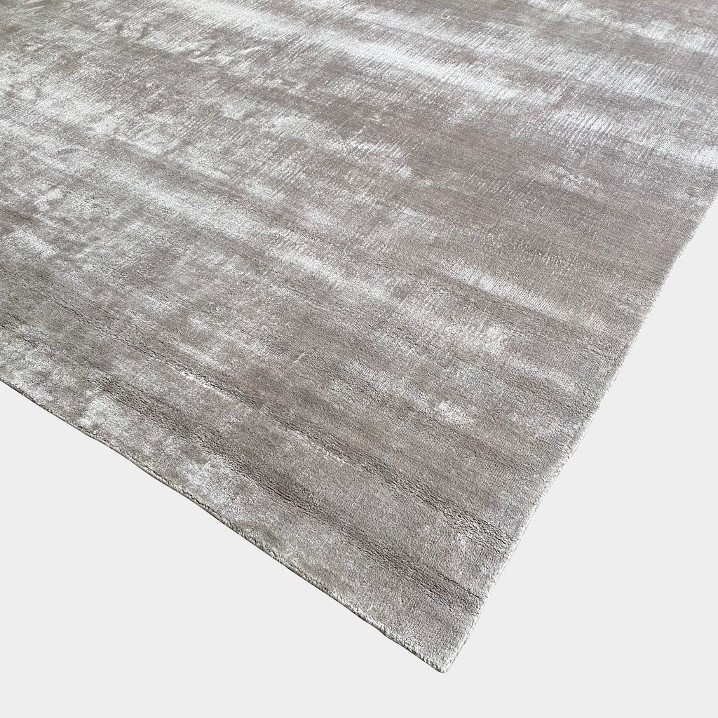 Custom Visose Light Pink Gray Rug | Los Angeles Consignment