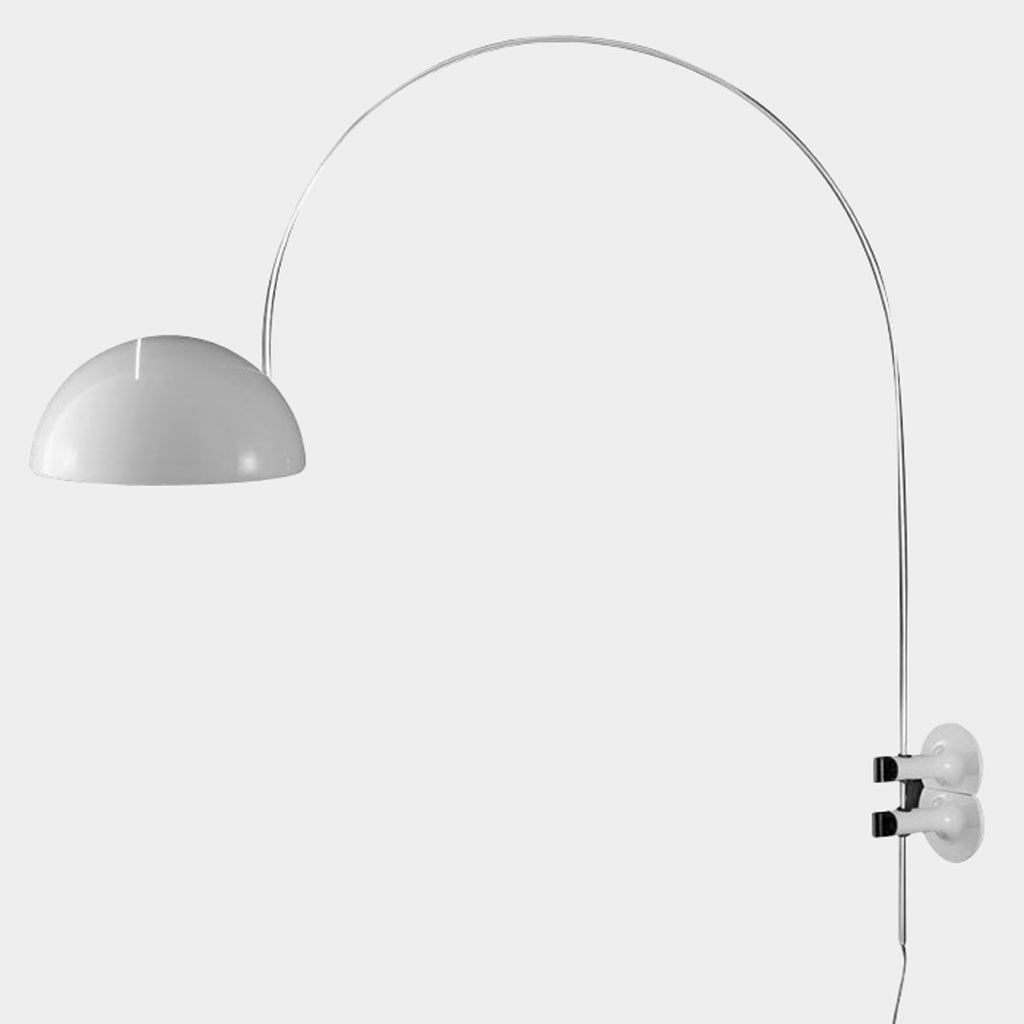 Oluce Coupe Arc Wall Lamp by Joe Columbo | LA | Lighting Consignment