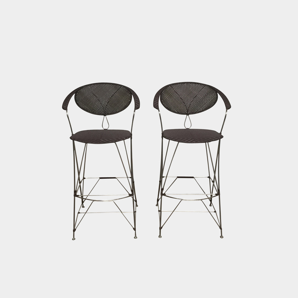 Yamakawa Outdoor Bar Stools (Set of 2)