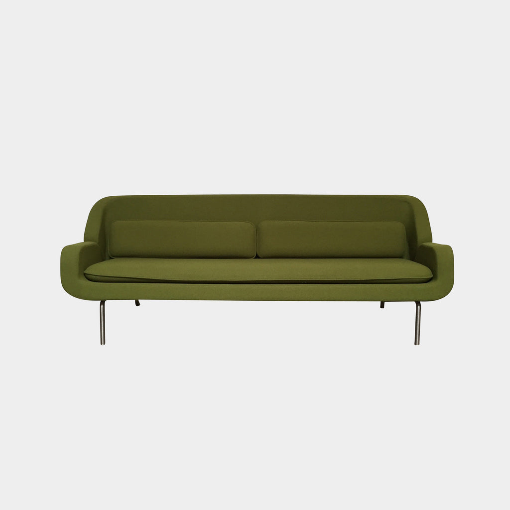 Herman Miller 'Custom Prototype' Green Sofa