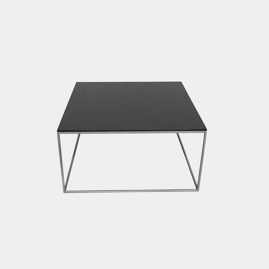 "Living Divani 'Ile"" Black Wood Coffee Table"