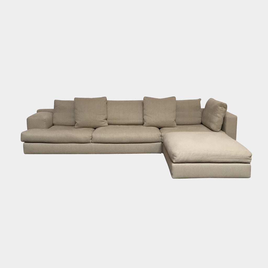 Miloe Sofa with Ottoman