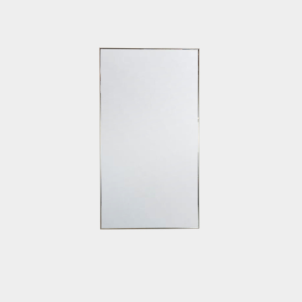 Large Wall Mirror with stainless steel frame for the livingroom or the bedroom