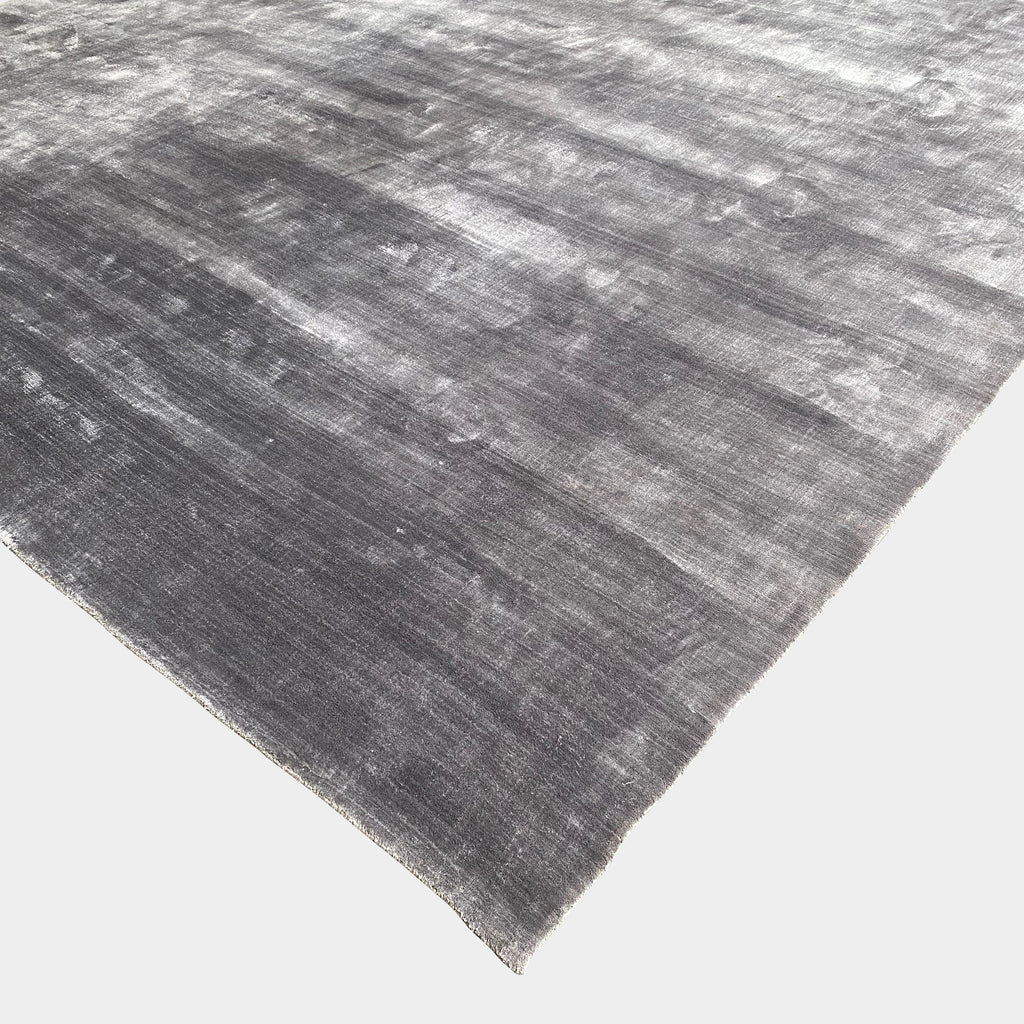 Custom Viscose Gray Rug