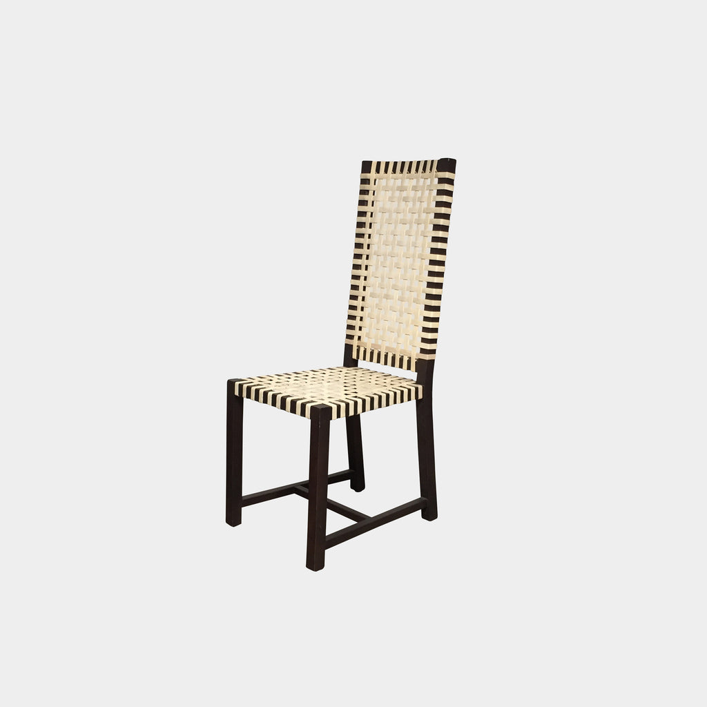 Gervasoni 121 High Back Otto Dining Chairs in Natural Rawhide Navone