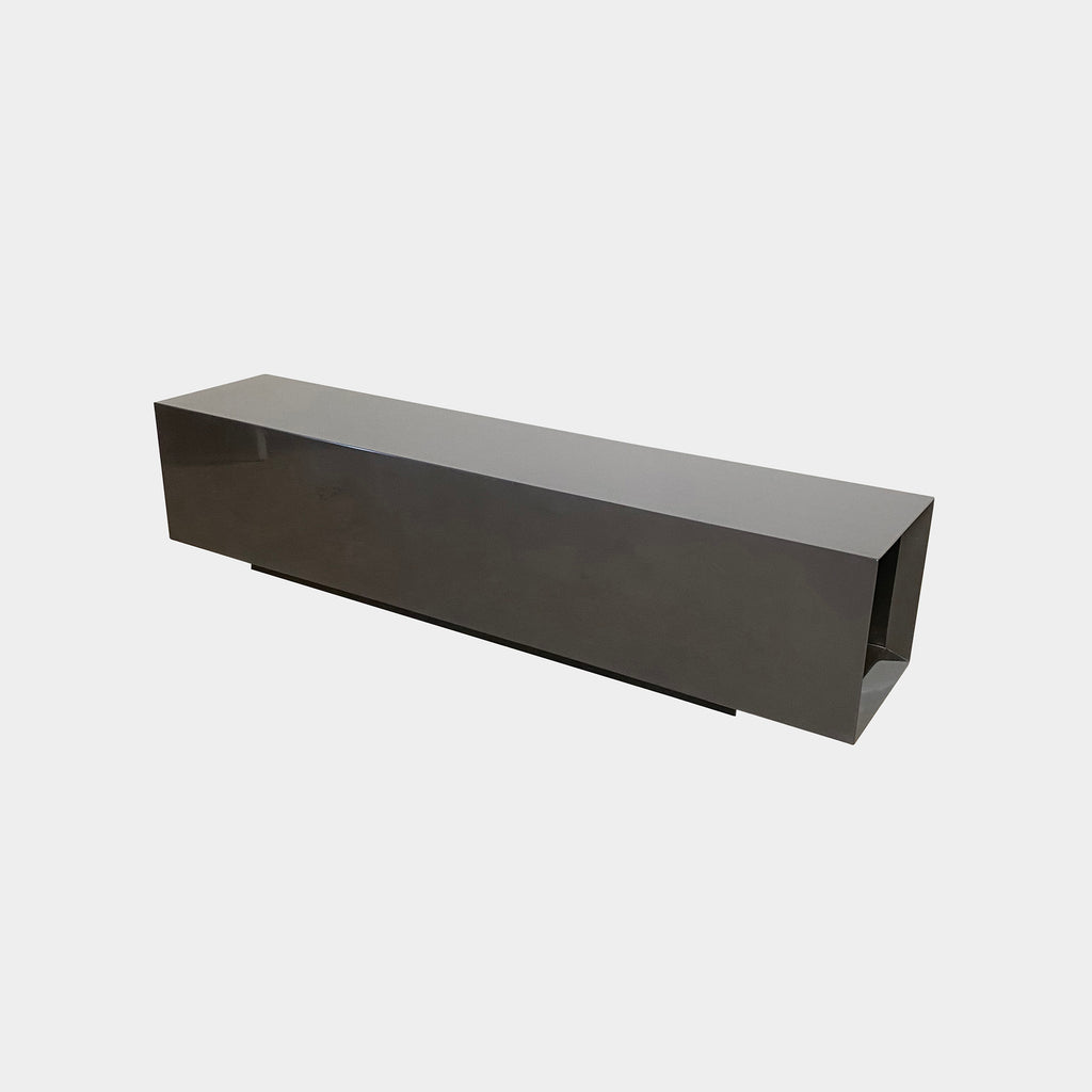 Gray Lacquer Bench