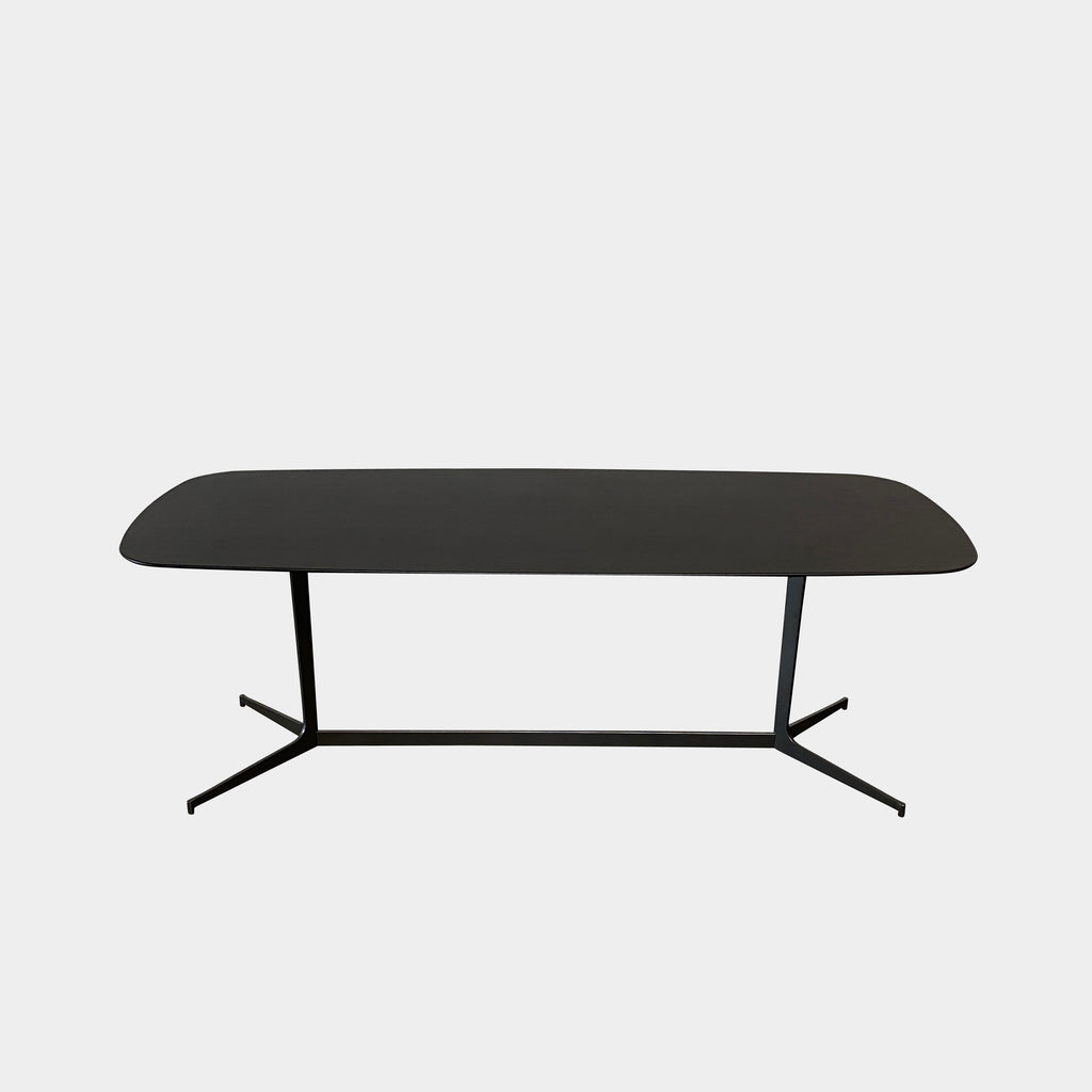 Clyfford Black Oak Console, Console - Modern Resale