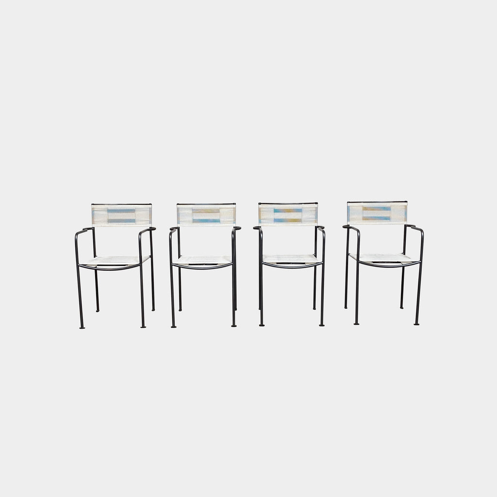 Gemini Outdoor Stacking Armchairs (set of 4), Dining Chair - Modern Resale