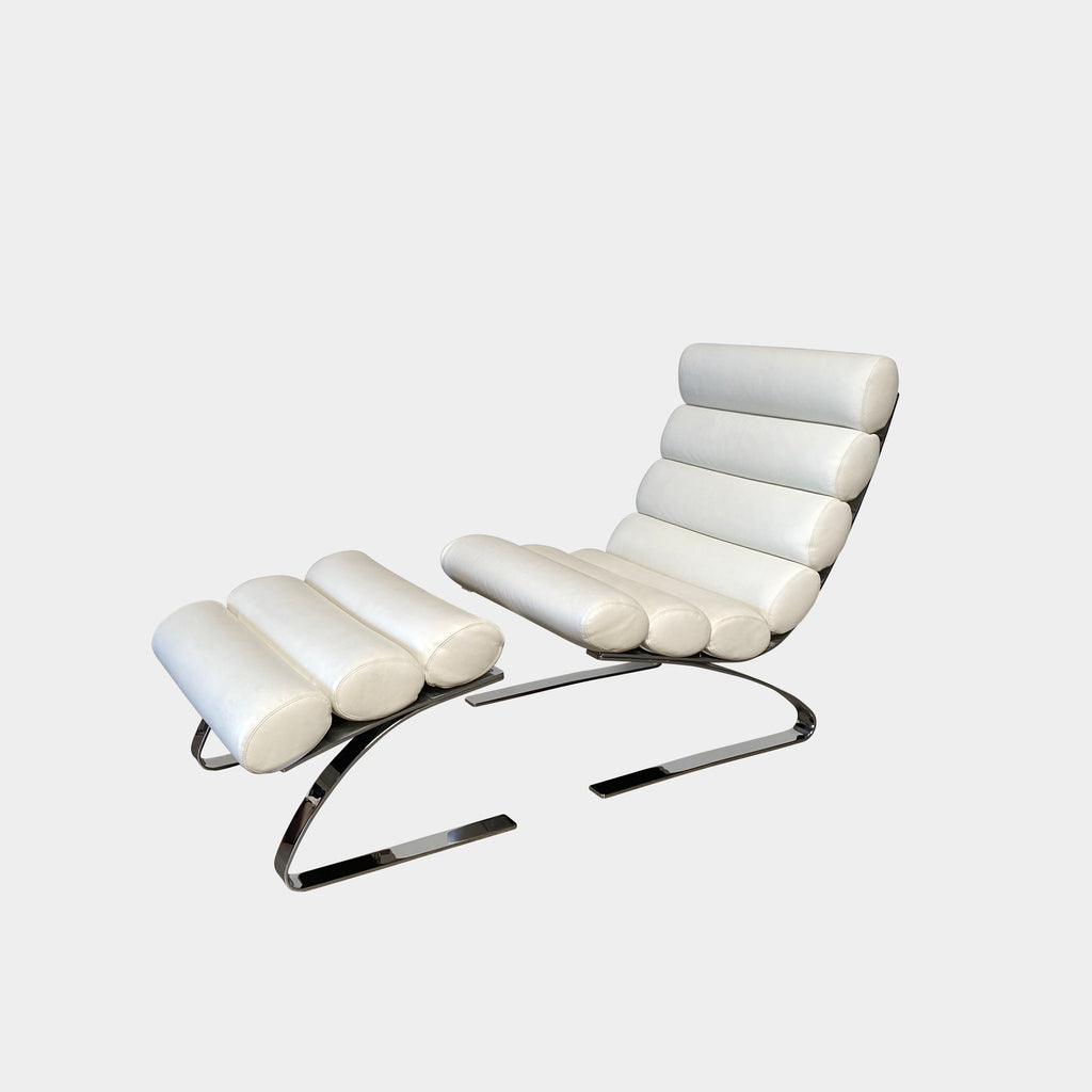 Sinus Lounge Chair & Ottoman, Chair & Ottoman - Modern Resale