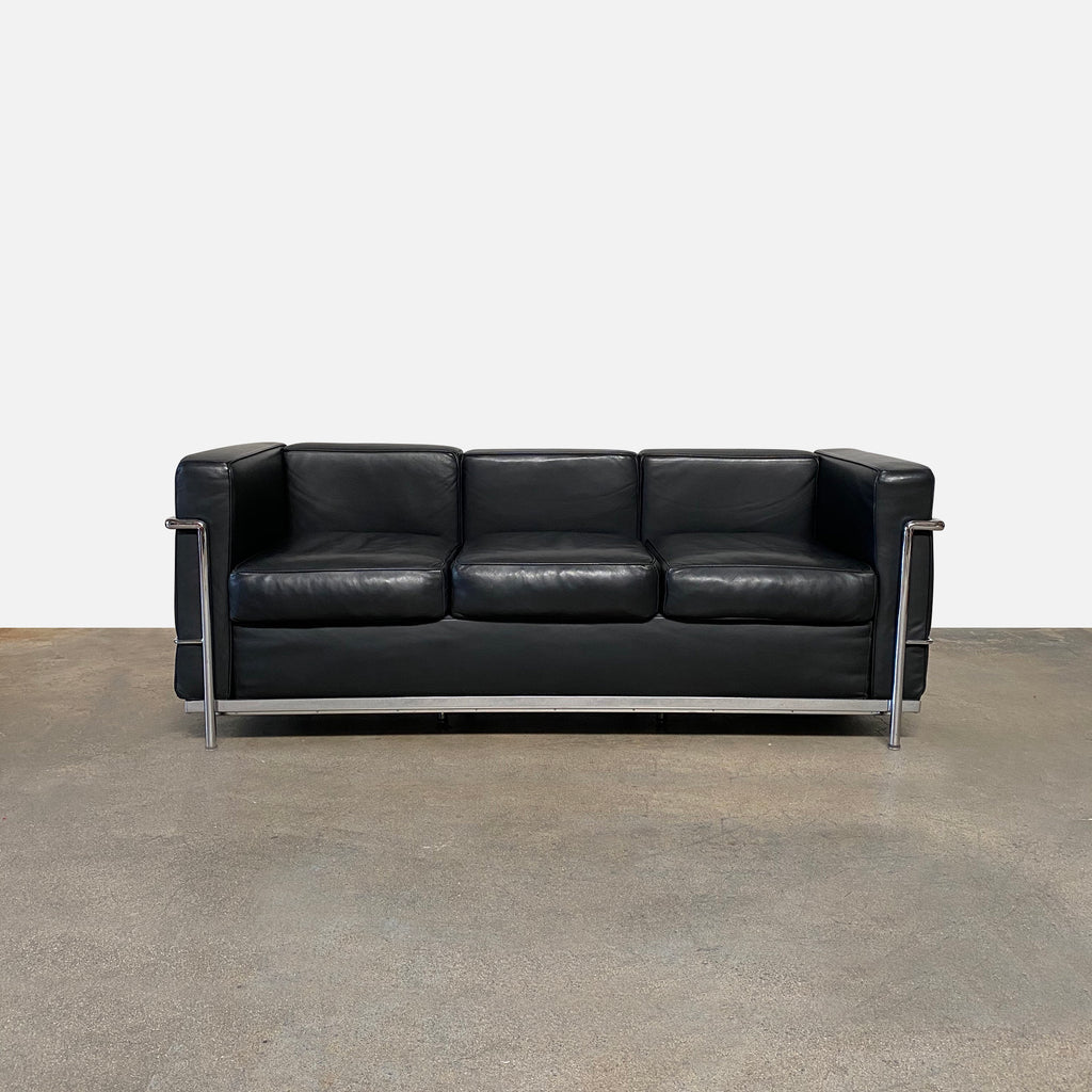 LC2 Petit Modele Three-Seat Sofa, Sofa - Modern Resale