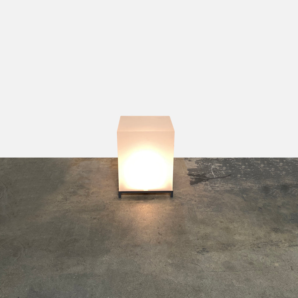 Outdoor Light Up Table, Outdoor Table - Modern Resale
