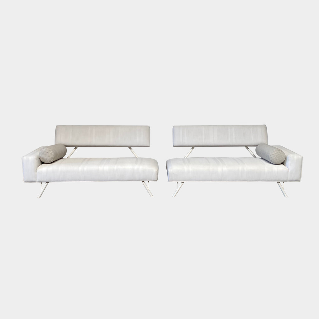Iron Frame Outdoor Sofa, Outdoor Sofa - Modern Resale