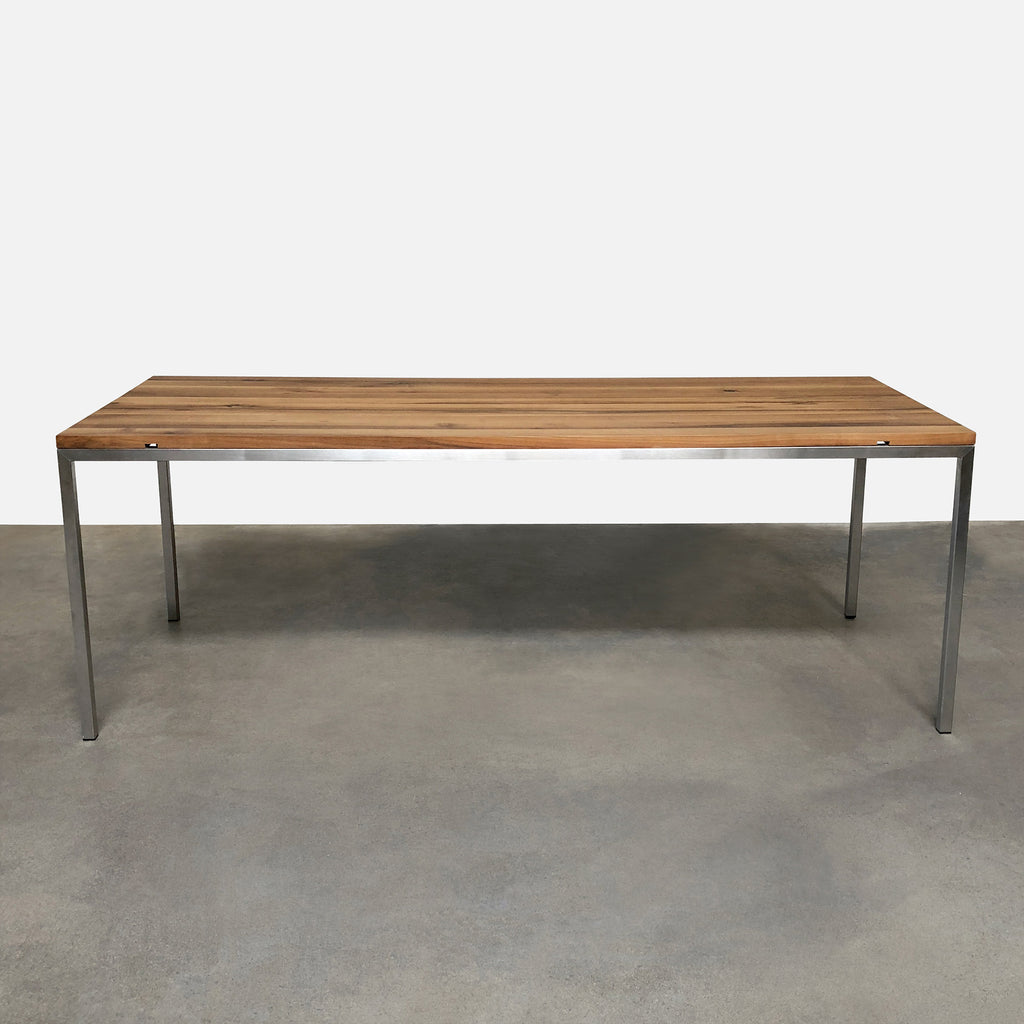 European Oak Dining Table, Dining Table - Modern Resale