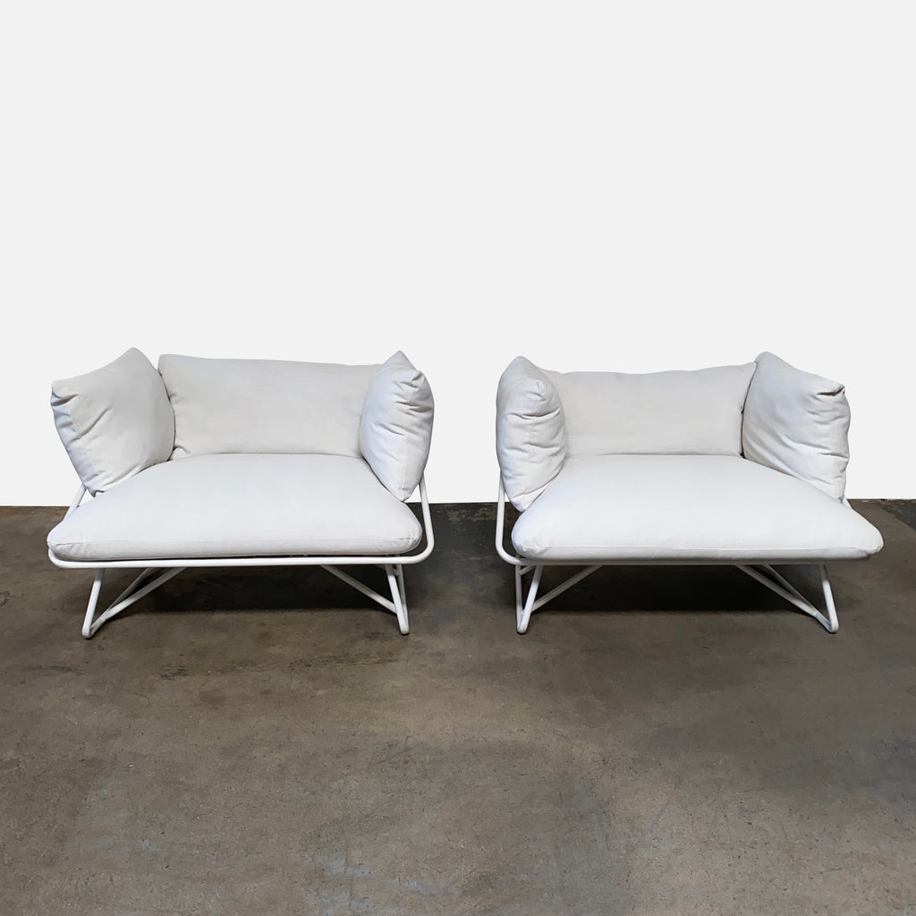 Pool Party Outdoor Chairs (Set of 2), Sofa - Modern Resale