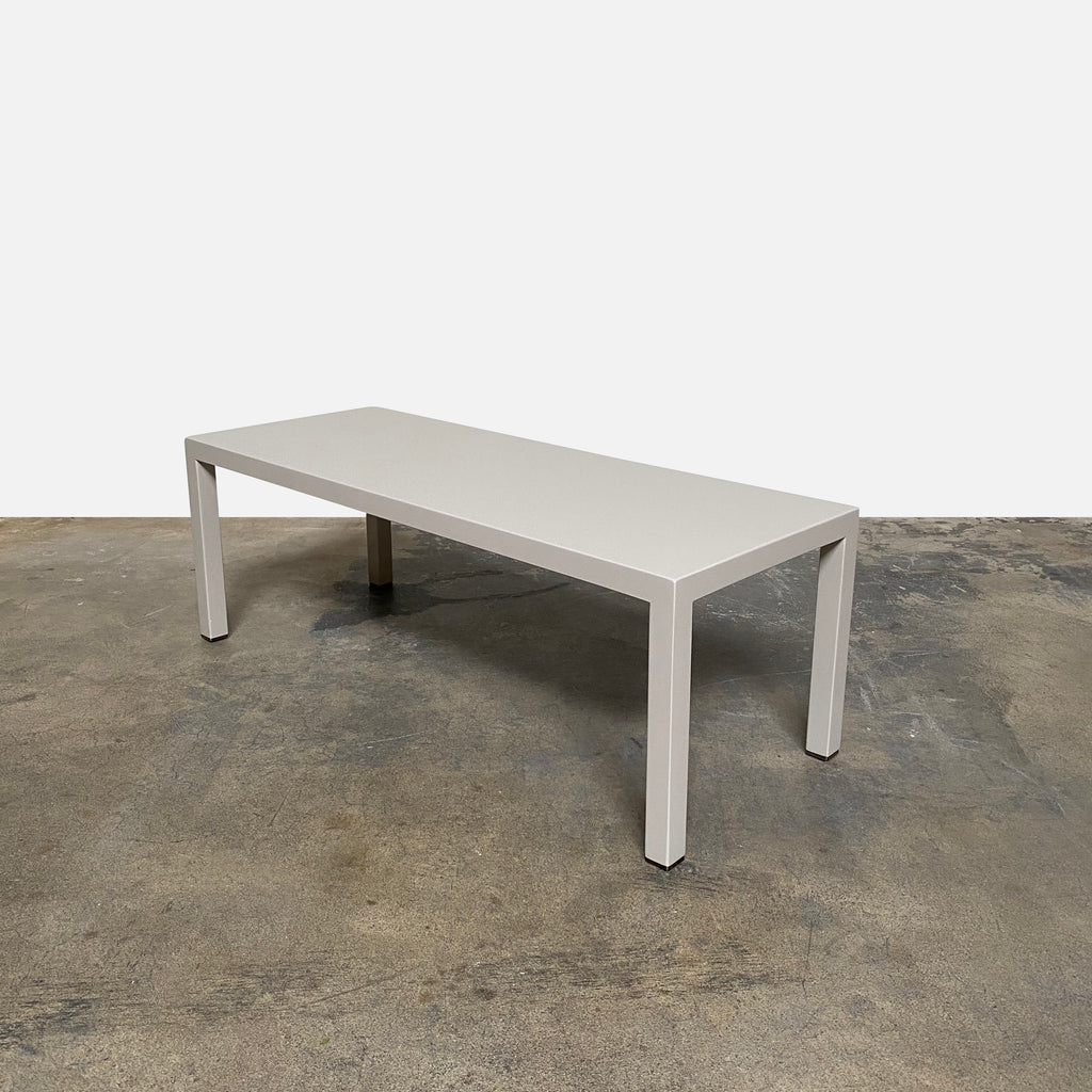Florence Hamilton Bench/Side Table, Coffee Table - Modern Resale
