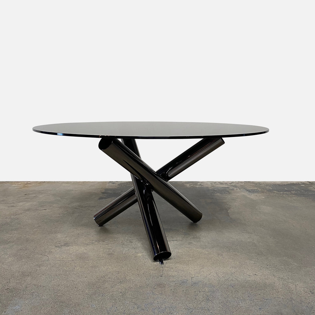 Van Dyck Round Dining Table, Dining Table - Modern Resale