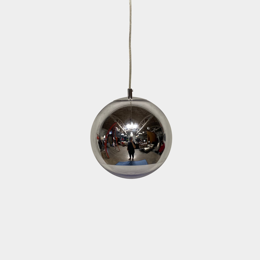 Tom Dixon 'Mirrorball' Chrome Round Pendant Light
