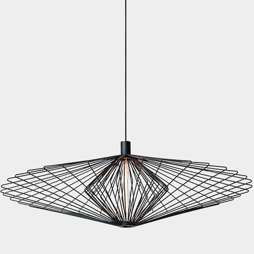 Wiro Diamond 3.0 Pendant Light Black Suspension Light | Los Angeles Consignment