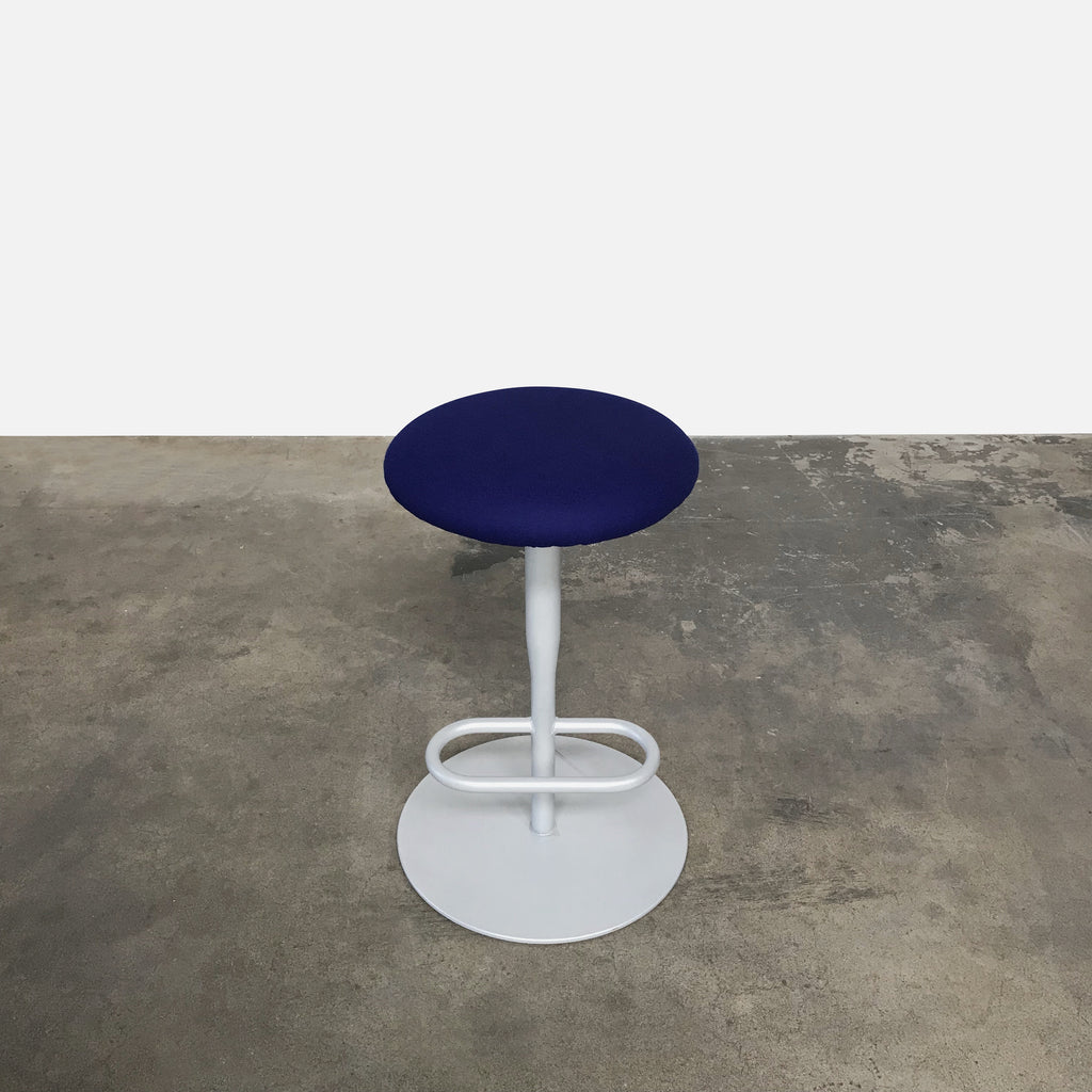 Atlas 756 Blue Counter Stool (3 in stock), Bar Stool - Modern Resale
