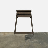 Arco Gray Oak Pivot Cabinet | Console | By Shay Alkalay