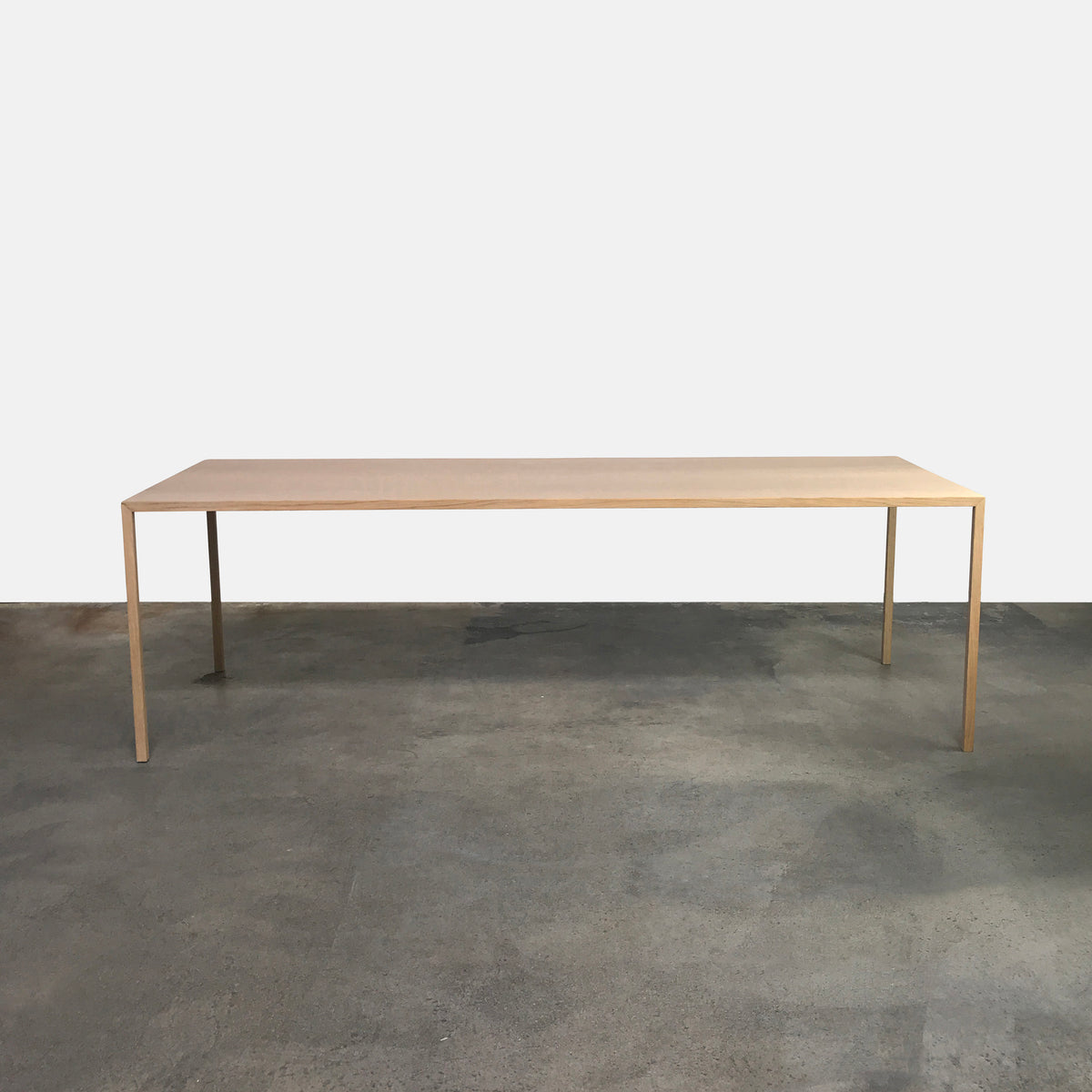 Arco Light Oak Slim Dining Table by Bertjan Pot | LA | Consignment