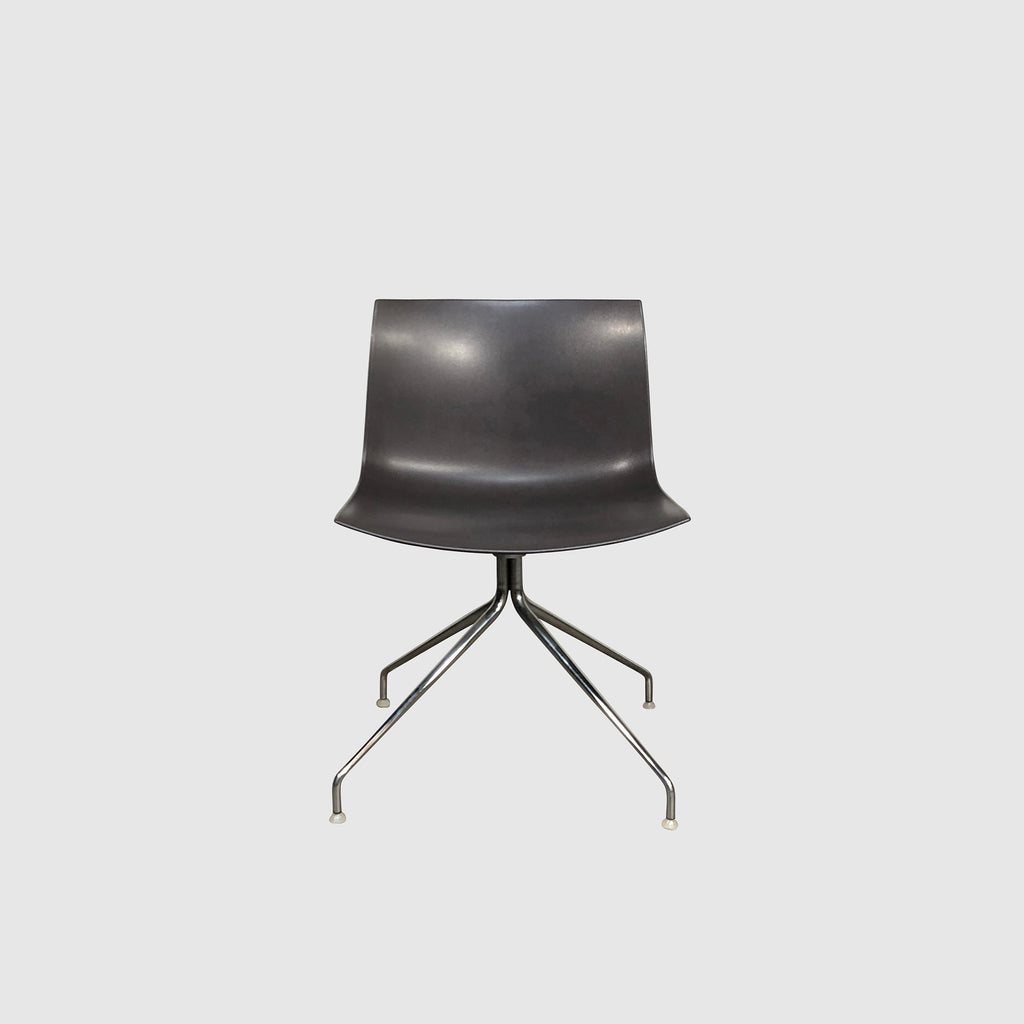 Arper 'Catifa' 46 Dark Taupe Chair by Lievore Altherr Molina