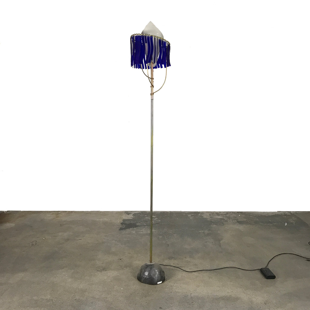 Latona Brass Floor Lamp, Floor Lamp - Modern Resale