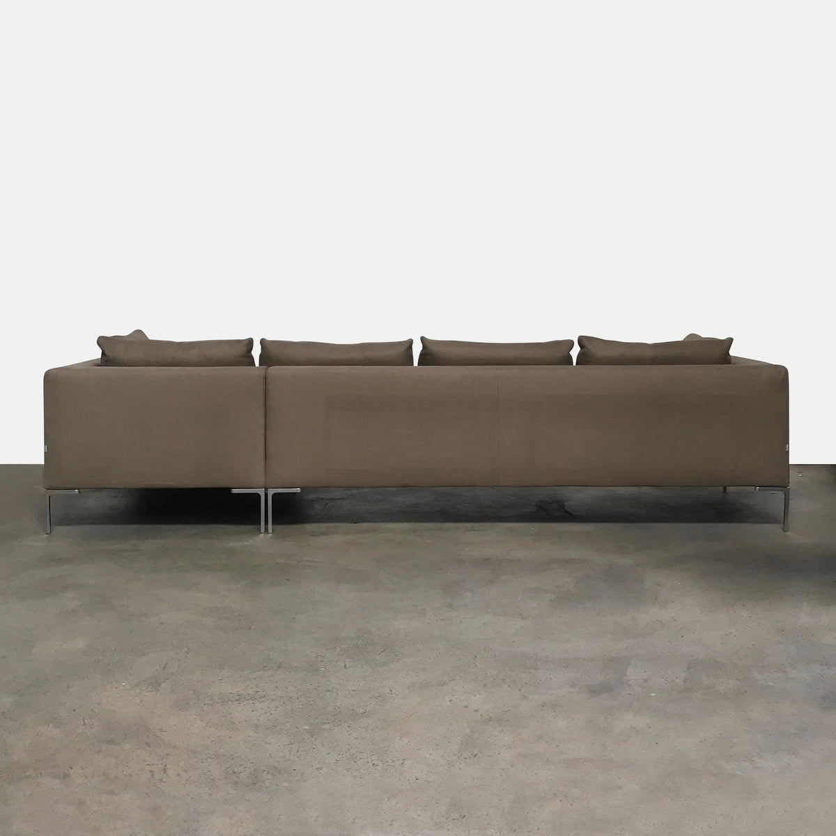 B&B Italia Charles Sectional (Short Right Chaise) Bastia 371 fabric