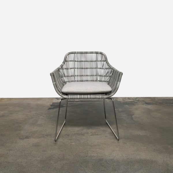 B&B Italia Crinoline Outdoor Dining Chair by Patricia Urquiola