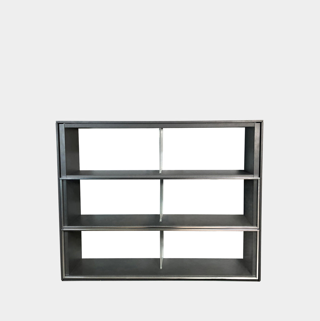 B&B Italia Domus Bookcase with Sliding glass doors