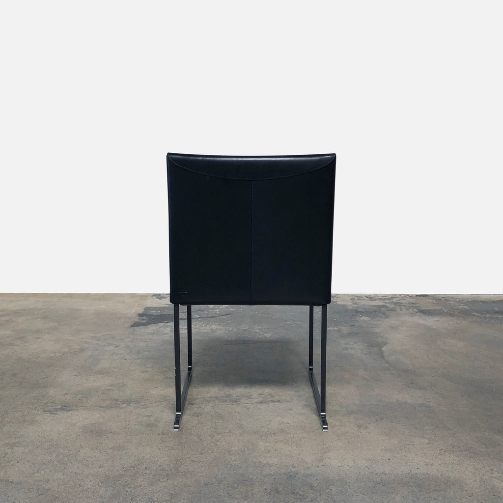 Solo Leather Dining Chair, Dining Chair - Modern Resale