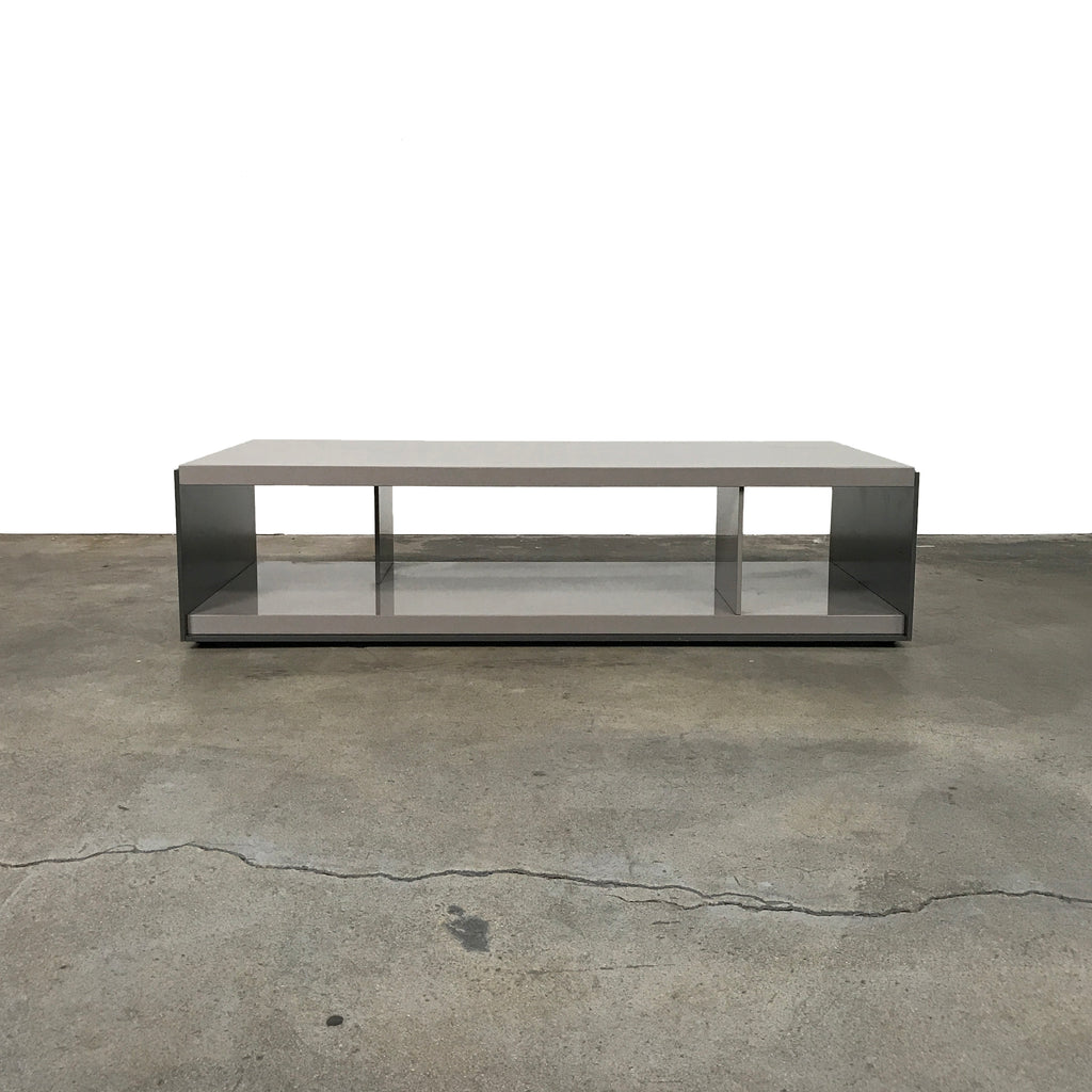 B&B Italia Tortora Lacquer Surface Coffee Table by Vincent Van Duysen