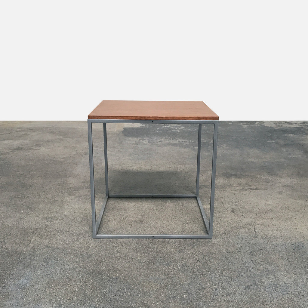 Bensen Cube One Lo Side Table by Niels Bendtsen