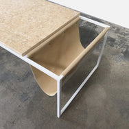 Bolia Piero Golden Marble Coffee Table by Joa Herrenknecht