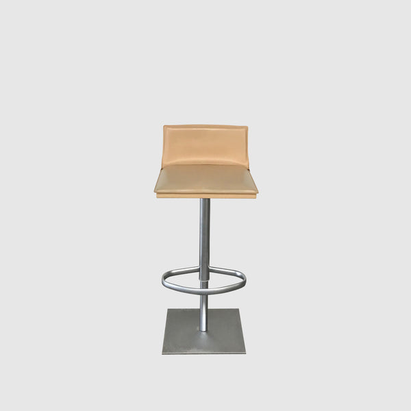 Bottega Piston Adjustable Height Stool (Set of 2)