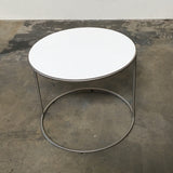 Cappellini White 'Cannot' Side Table | Los Angeles | Consignment
