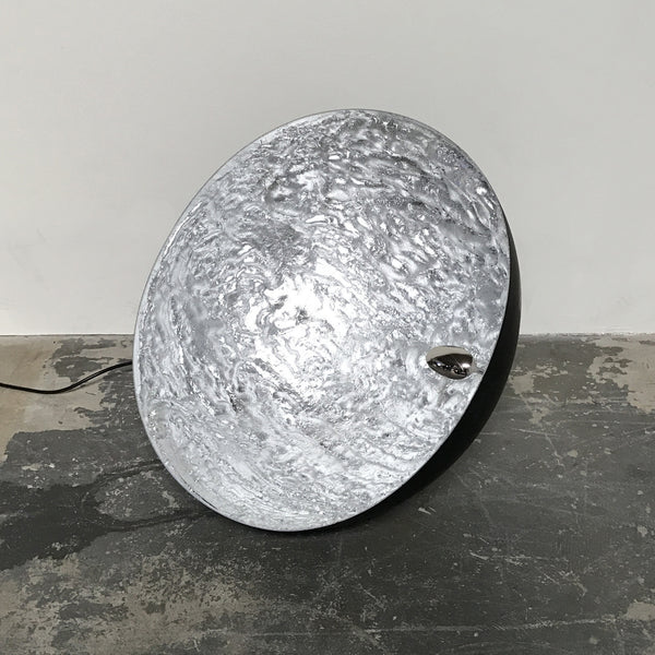 Catellani & Smith Stchu-Moon Floor/Table Lamp Silver | Los Angeles