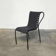 Ligne Roset Gray Ficelle Indoor / Outdoor Chair by Blasius Osko
