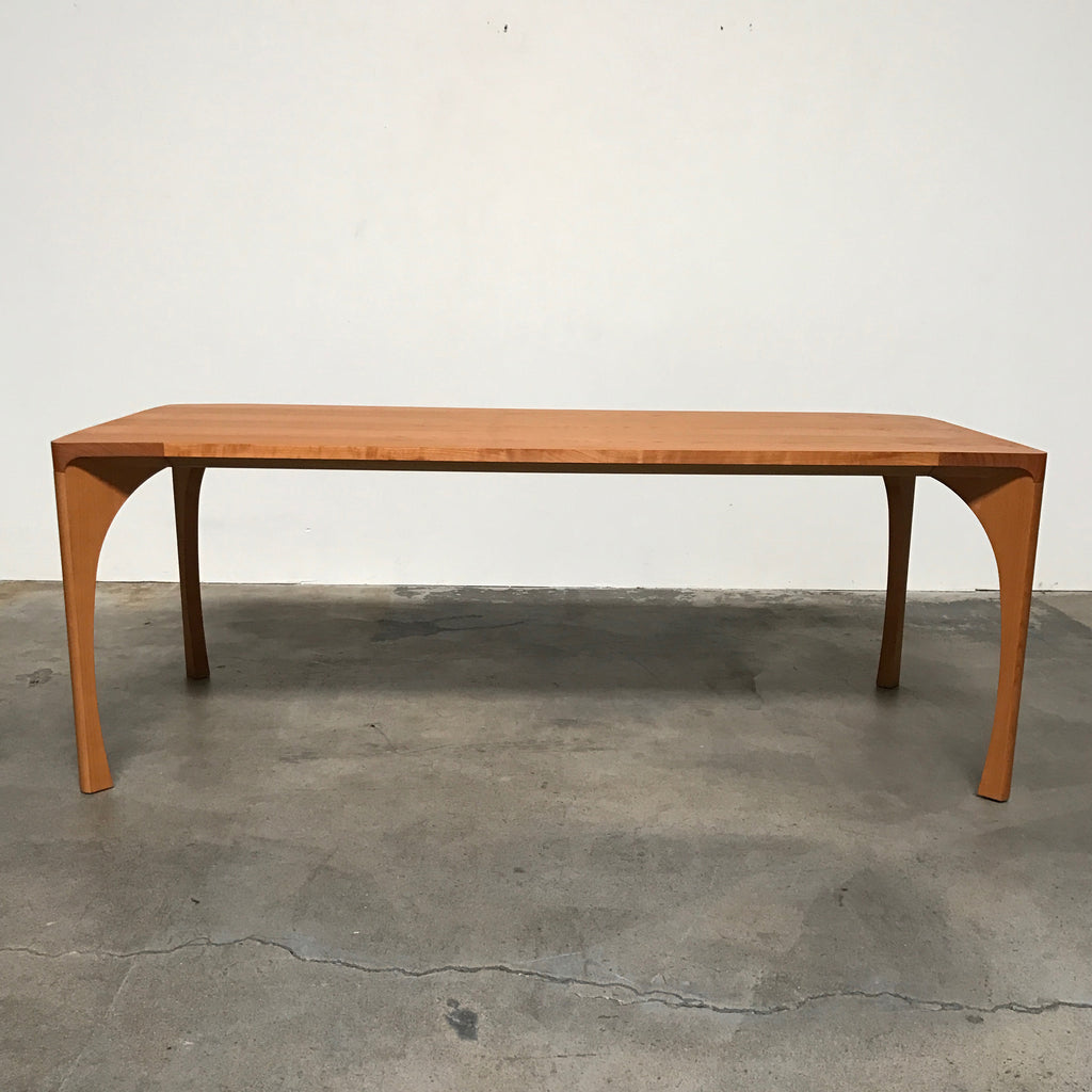 Ligne Roset Cherry Wood Dining Table | LA | Consignment ...