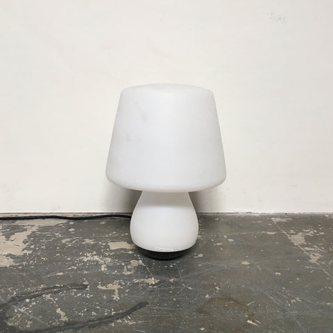 Ligne Roset White Mushroom Outdoor Lamp | LA | Consignment