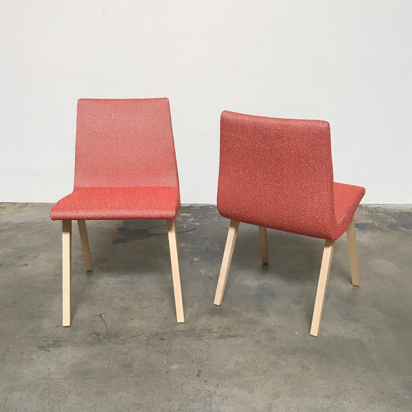 Ligne Roset Red Fabric TV Chair by Pierre Paulin