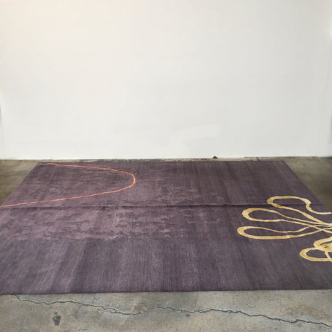 Derrick Buisch Hand Knotted Contemporary Rug for Limn Collection
